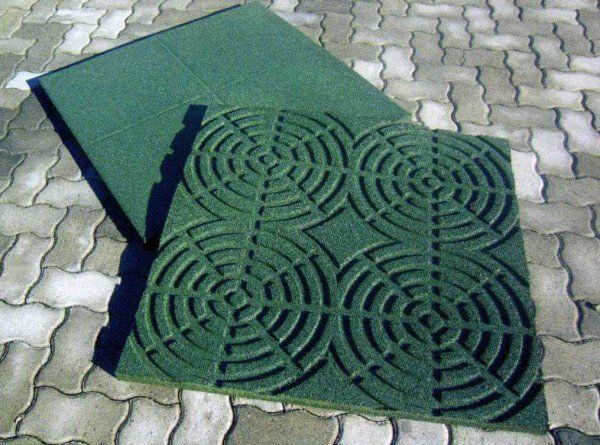 Tappeti verdi per giardino idee per il design della casa - Tappeto antitrauma ...
