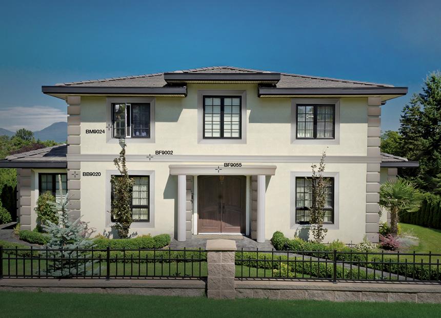 Estremamente cornici finestre esterne vi14 pineglen for Cornici per facciate esterne
